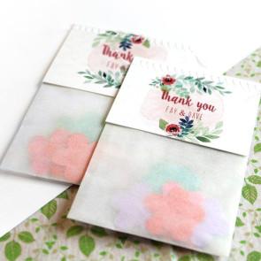 Rustic Garden Flower Bags