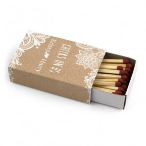 Vintage Lace Wedding Matches