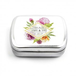 Floral Wedding Mint Tins