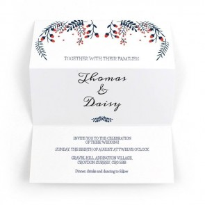 Winter Wedding Tin