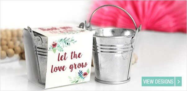 Flower Seed Wedding Favours Locomix