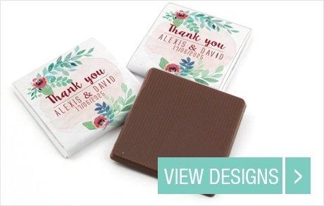 Weddnig-sweet-table-Mini-Chocolate-favours