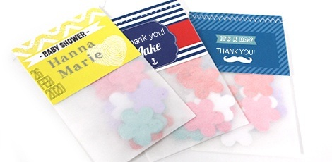 baby-shower-flower-bags-seed-paper-confetti