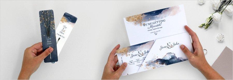 wedding-favors-invitations-gold-watercolour