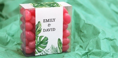 candy-square-wedding-favours-green-leaf