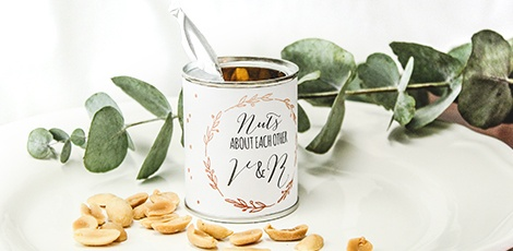 Nuts Wedding favours