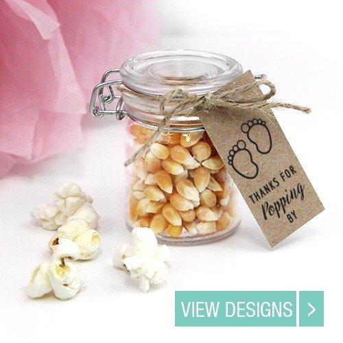 baby-shower-favour-popcorn-weckjar