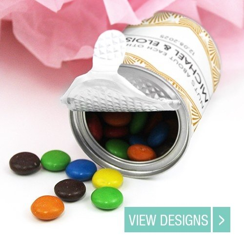 wedding favour chocolate favour container