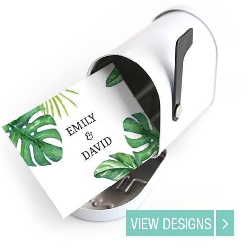 wedding favour Mini Mailbox