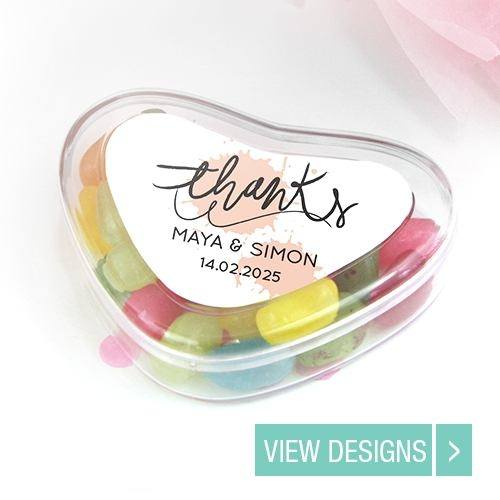 Wedding Favours: Candy Heart