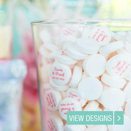 Personalised Wedding Mints Wedding Favours