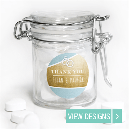 Wedding favours Weck Jar Container